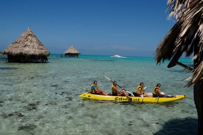 Belize: Rain Forest, Reefs and Cave Exploration for Students 13 Day Adventure