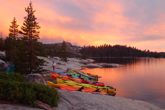 Women's Kayak Camping Adventure, Loon Lake August 2021