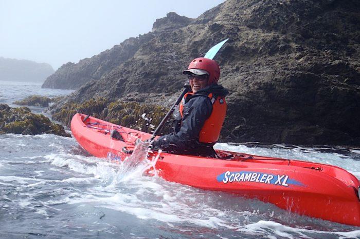 Mendocino Sea Caves by Kayak September 2021