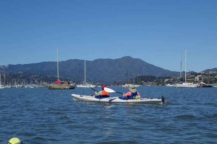 Kayaking the  Sausalito Waterfront