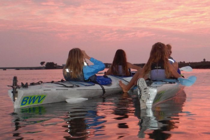 School Field Trip~Sunset, Moon Rise, Bioluminescence Night Paddles