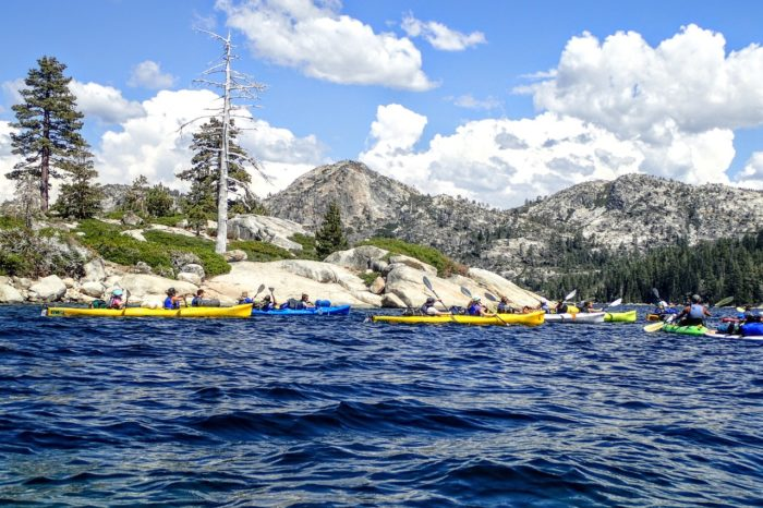 Sierra Wilderness Kayak Camp July 2021