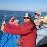 Women whale watching - Blue Water Ventures