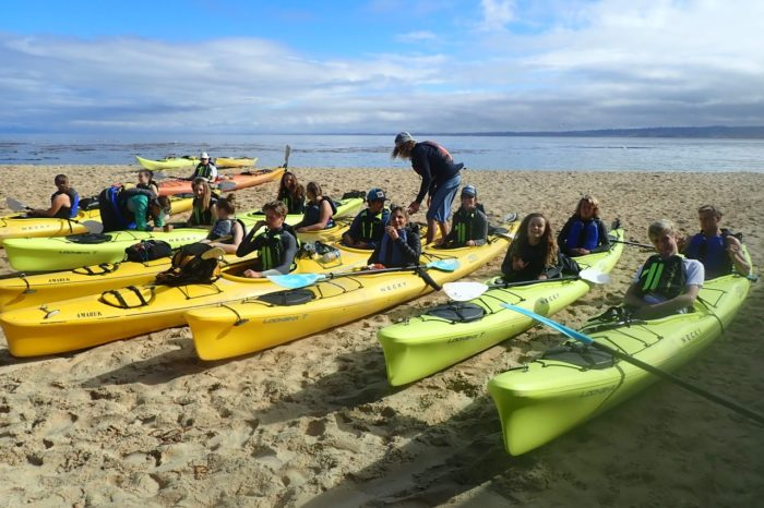 School Field Trip~Cannery Row by Kayak~ Snorkel