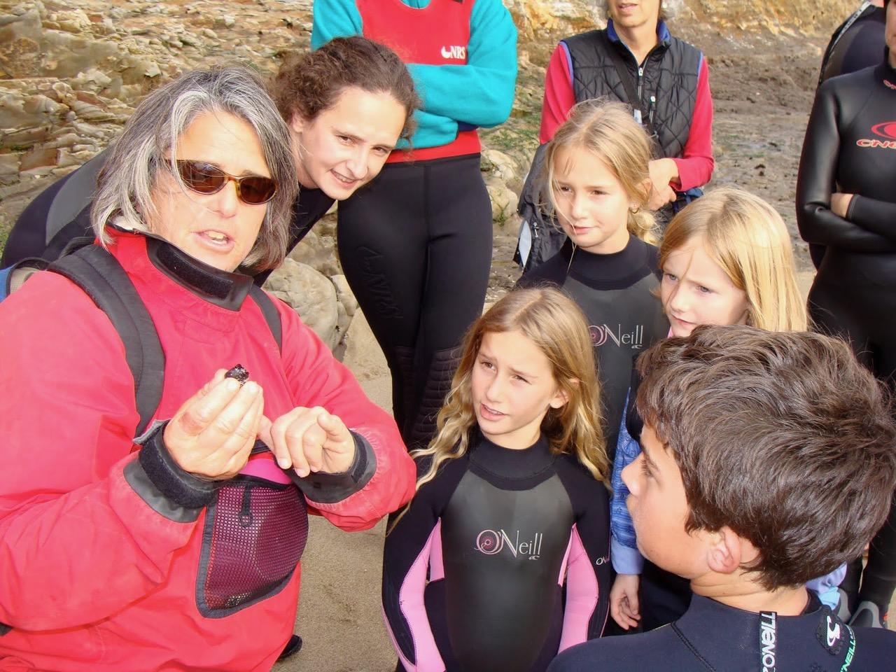 School Tidepooling - Blue Water Ventures